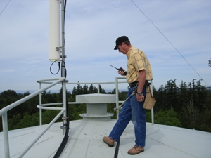 ACS inspecting antennae